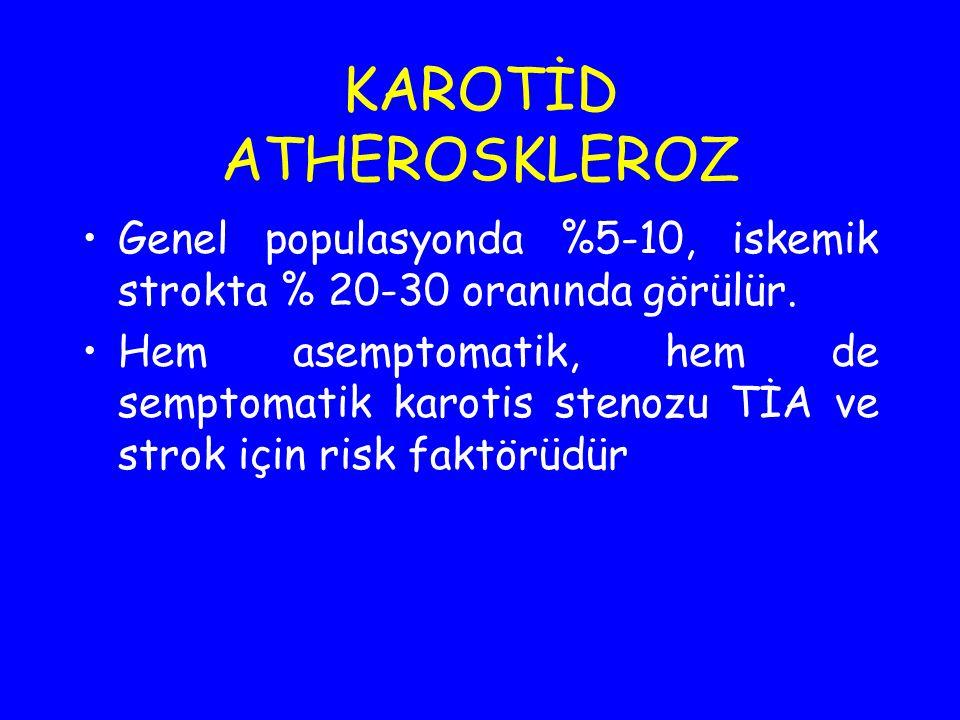 KAROTİD ATHEROSKLEROZ