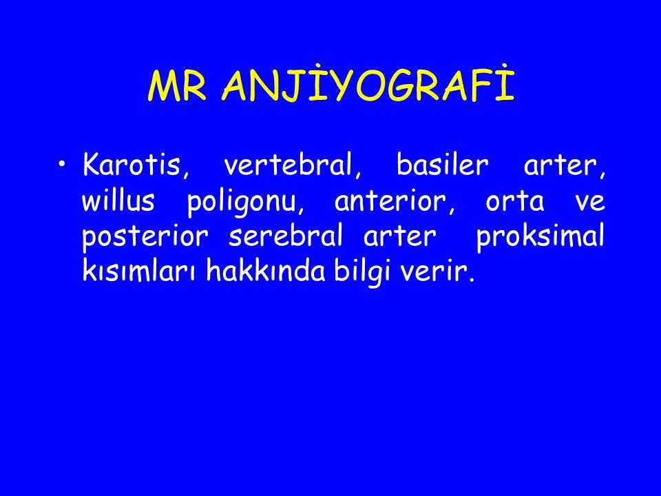 MR ANJİYOGRAFİ