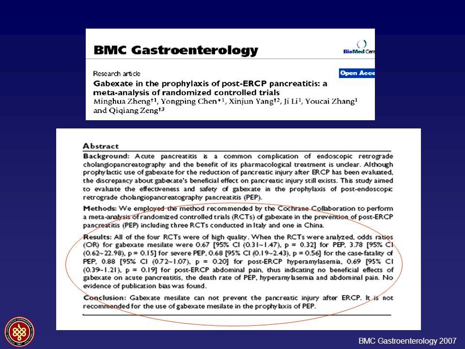BMC Gastroenterology 2007