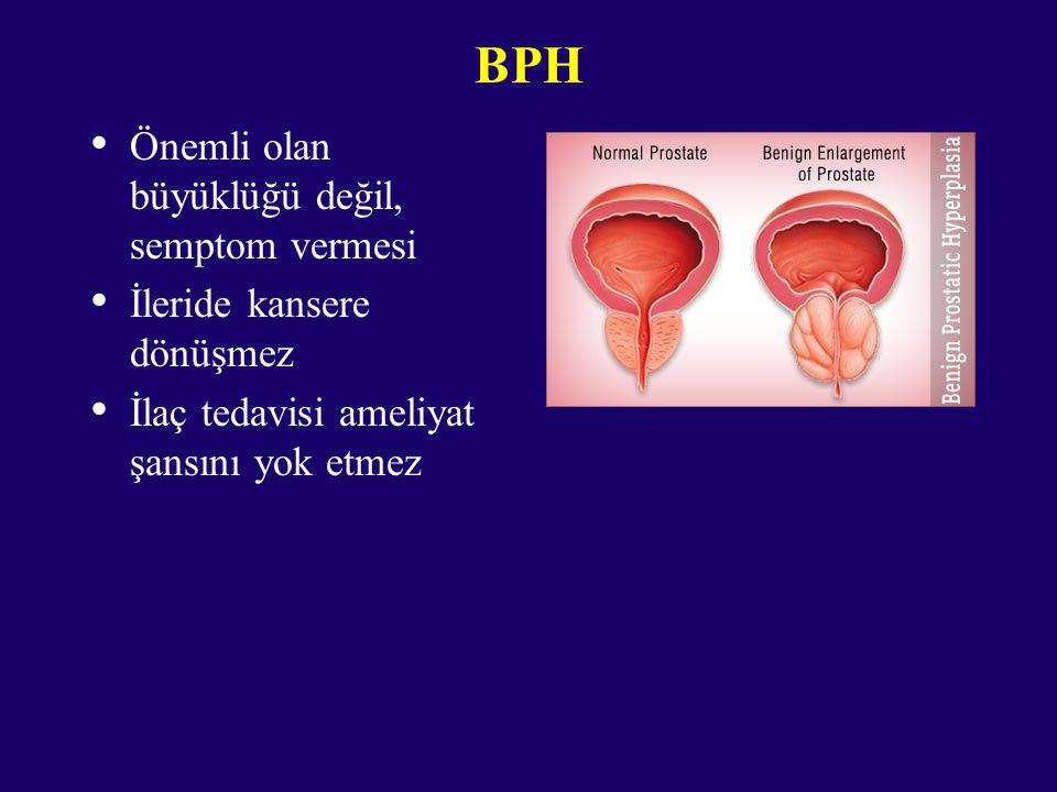 BPH Önemli olan büyüklüğü değil, semptom vermesi