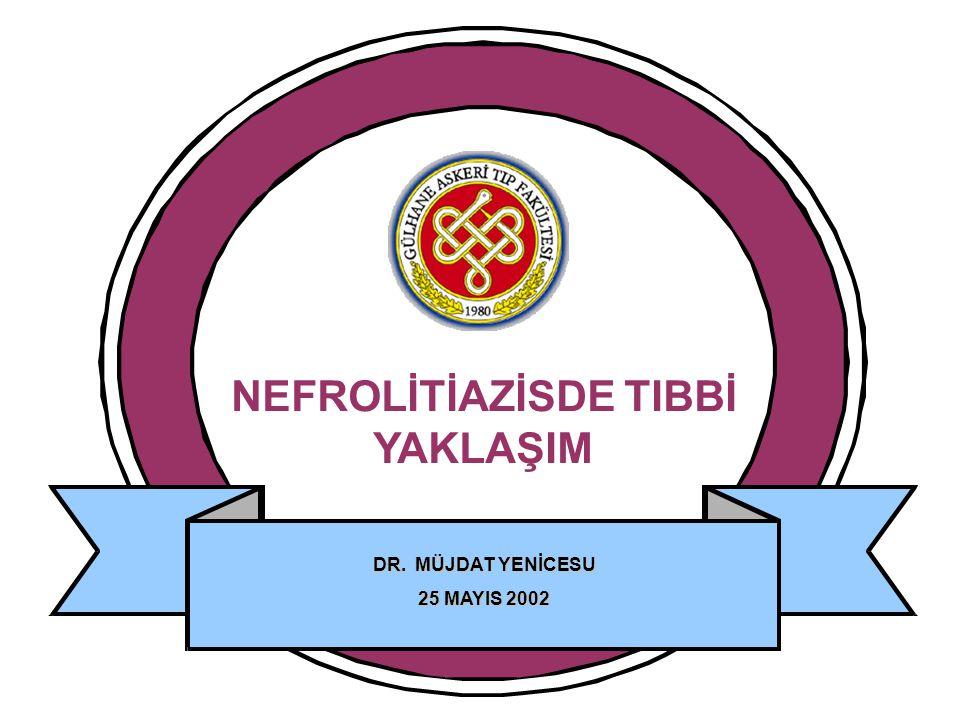 NEFROLİTİAZİSDE TIBBİ