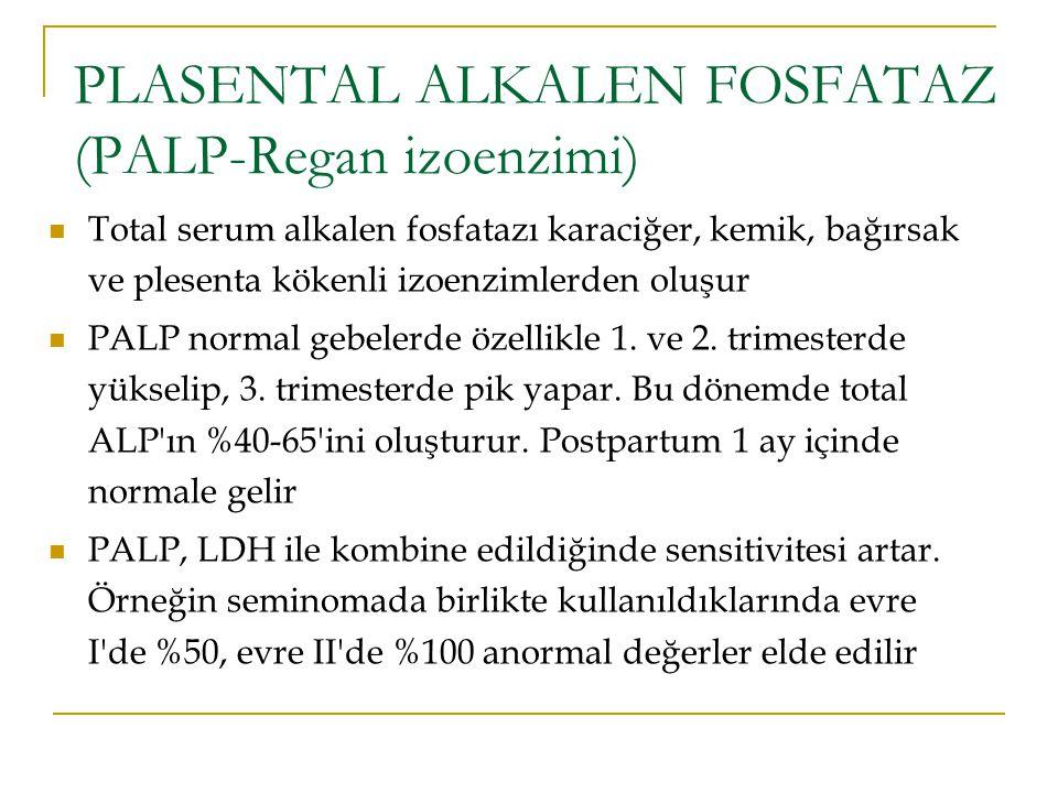 PLASENTAL ALKALEN FOSFATAZ (PALP-Regan izoenzimi)