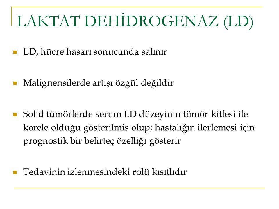 LAKTAT DEHİDROGENAZ (LD)