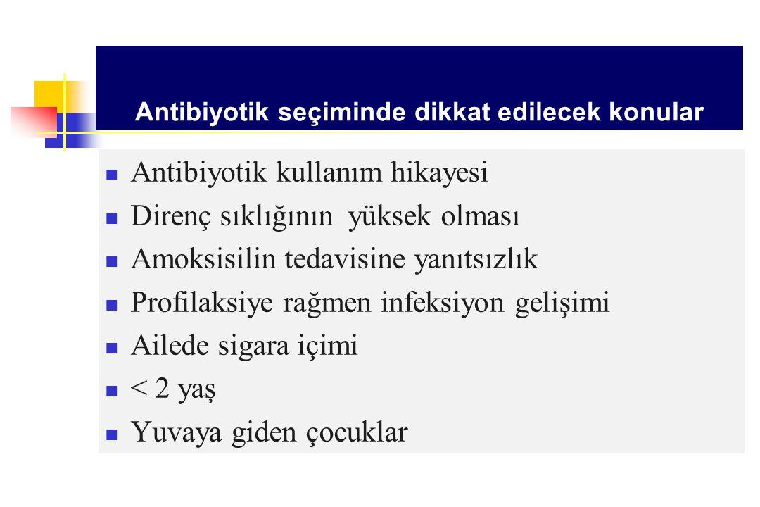 Antibiyotik seçiminde dikkat edilecek konular