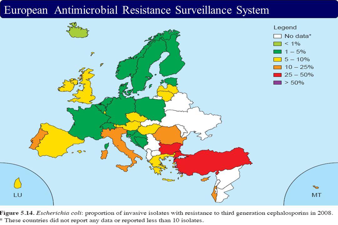European Antimicrobial Resistance Surveillance System