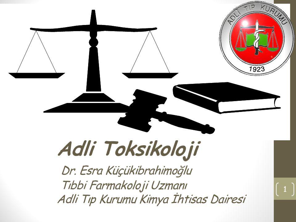 8-Apr-17 Adli Toksikoloji Dr.