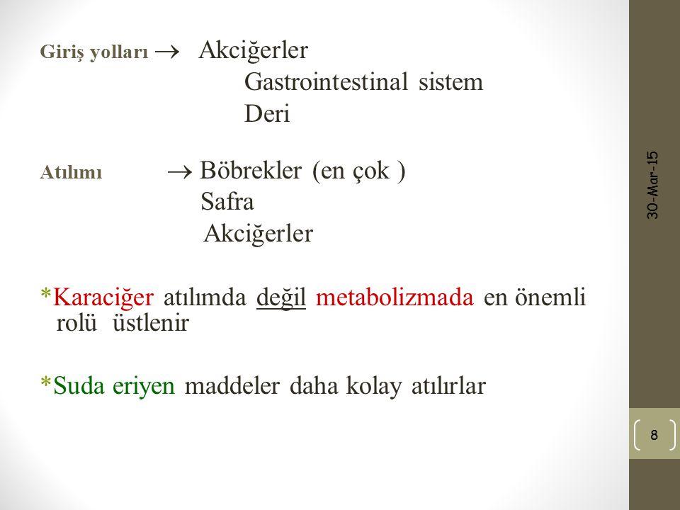 Gastrointestinal sistem Deri