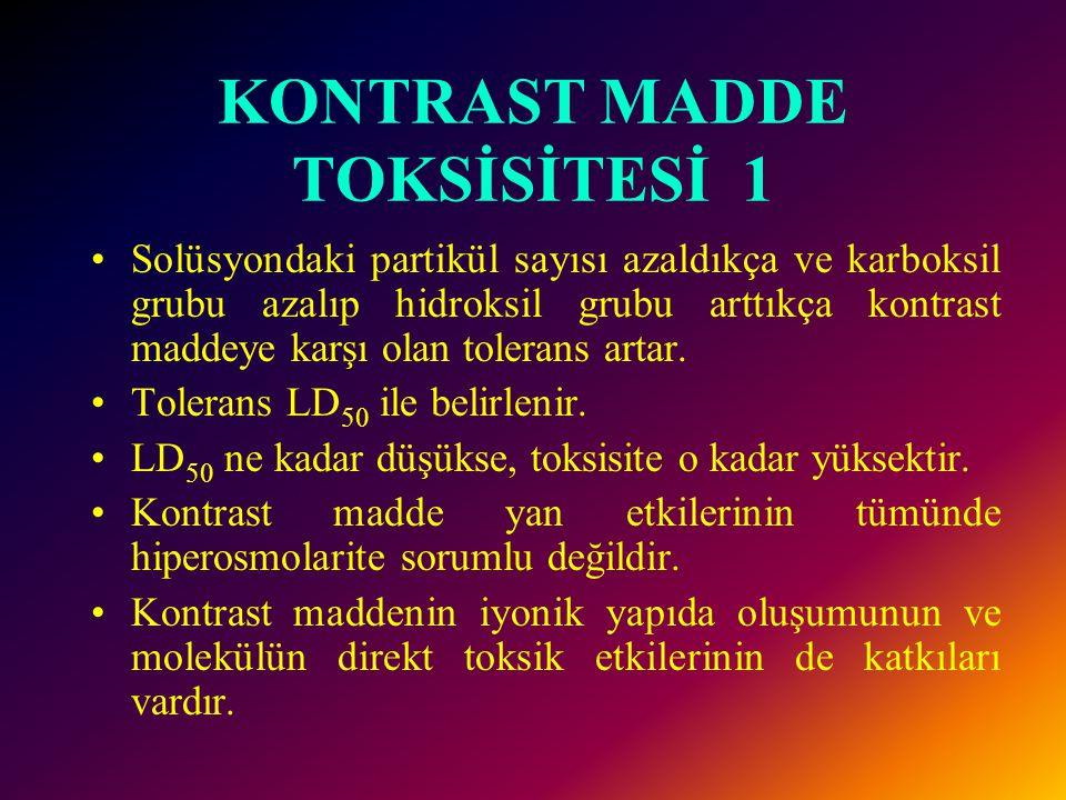 KONTRAST MADDE TOKSİSİTESİ 1