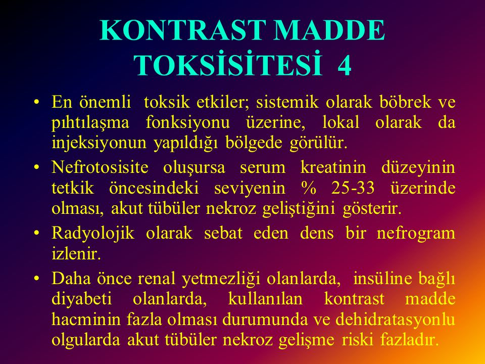 KONTRAST MADDE TOKSİSİTESİ 4