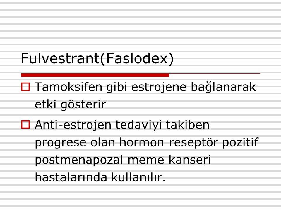 Fulvestrant(Faslodex)