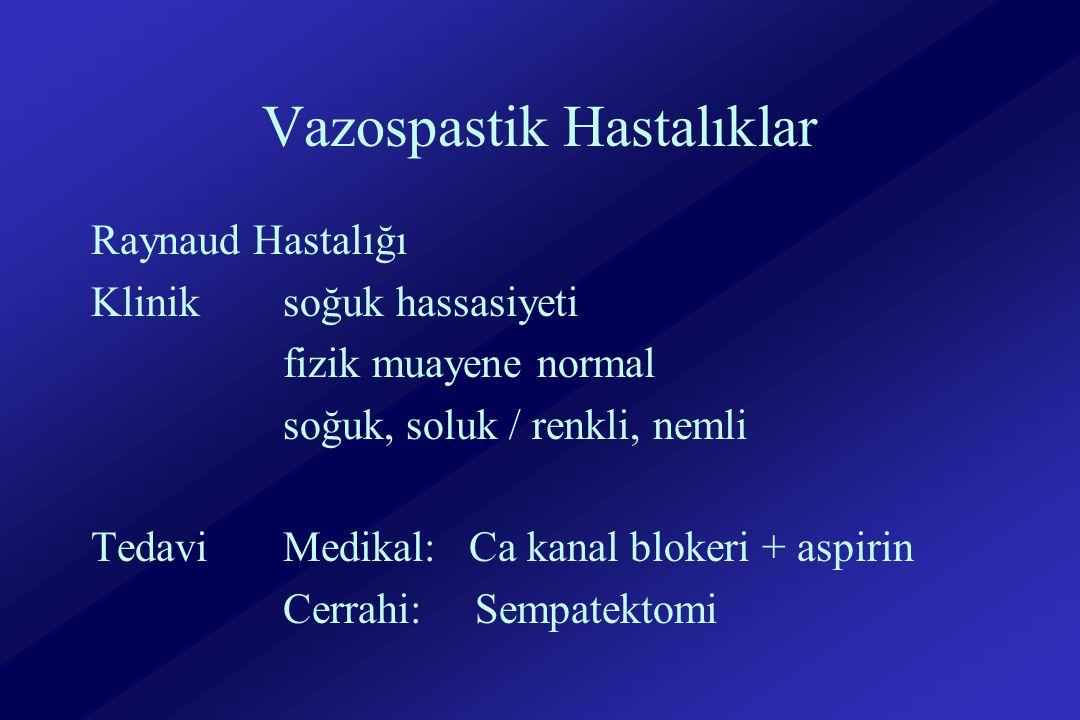 Vazospastik Hastalıklar