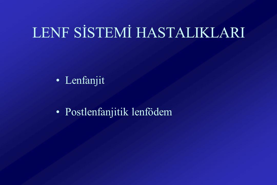 LENF SİSTEMİ HASTALIKLARI