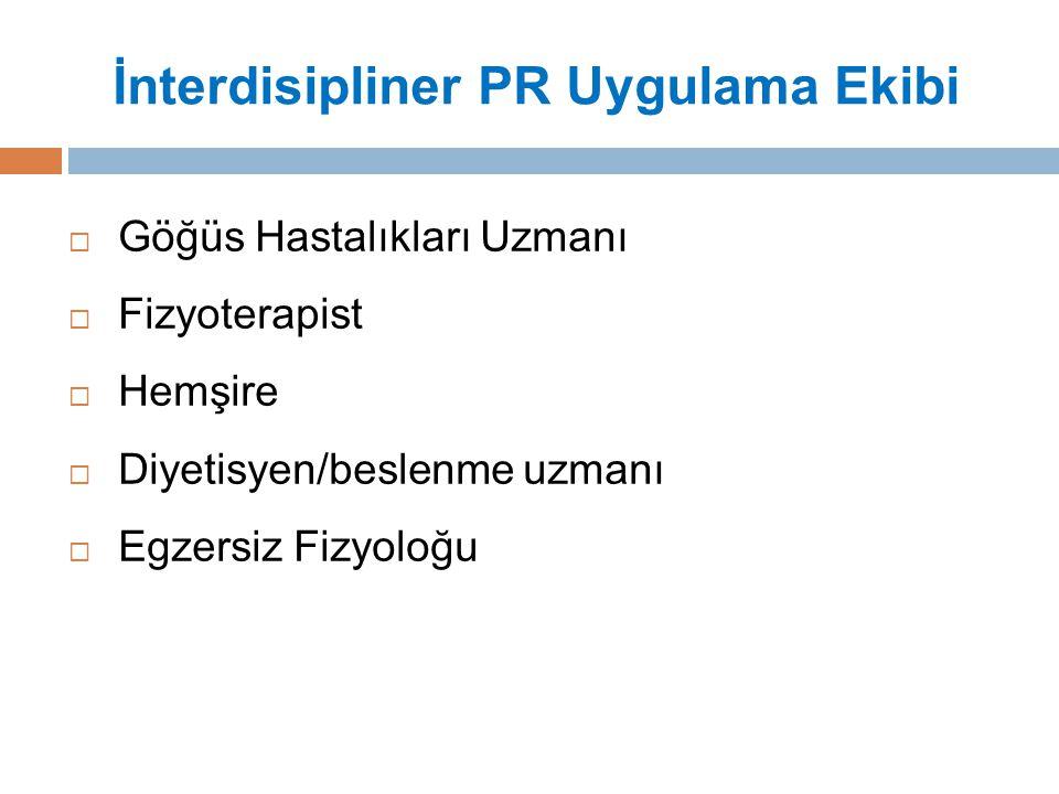 İnterdisipliner PR Uygulama Ekibi