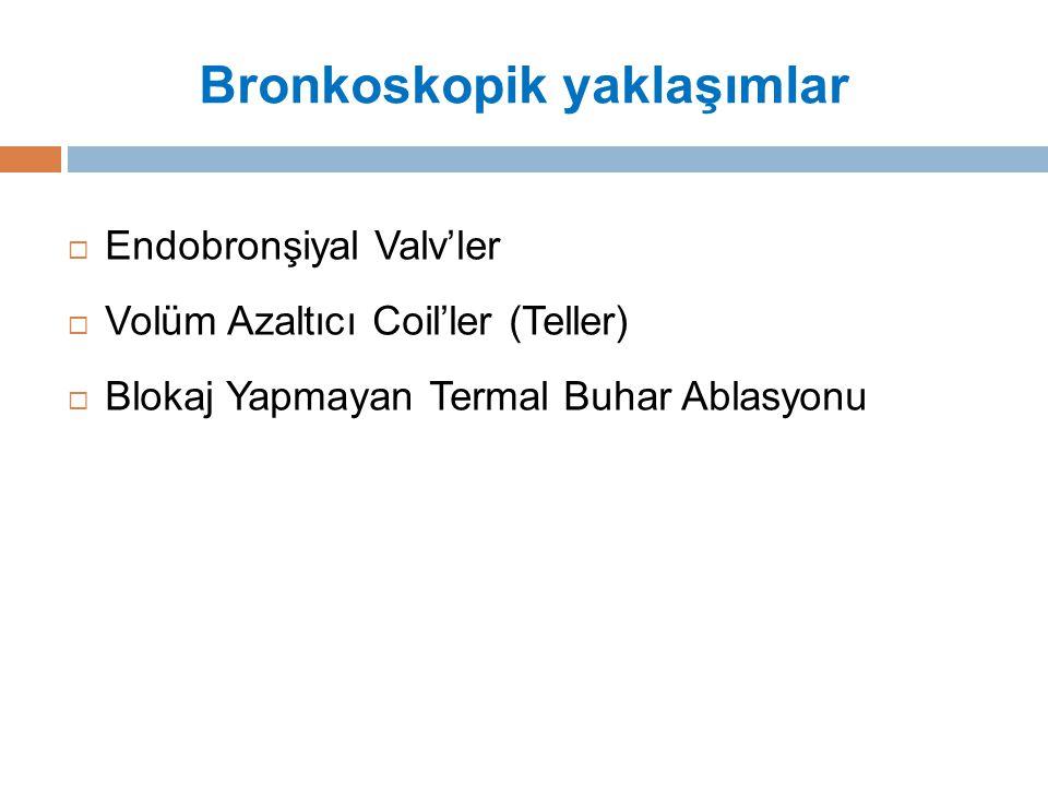 Bronkoskopik yaklaşımlar