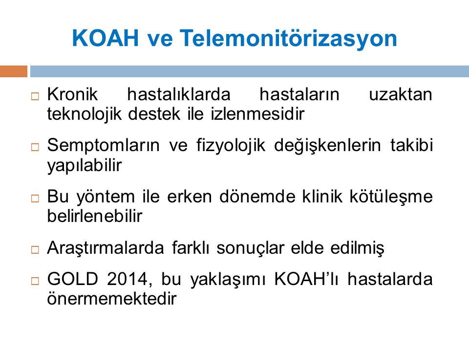 KOAH ve Telemonitörizasyon