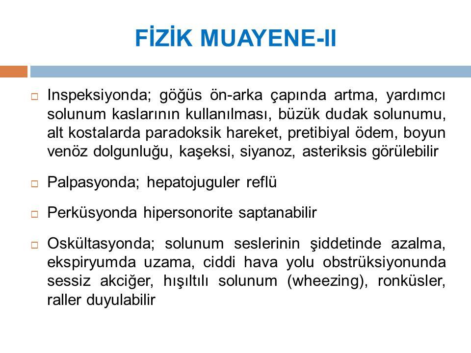 FİZİK MUAYENE-II