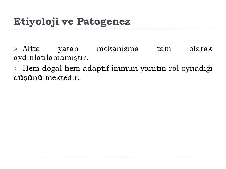Etiyoloji ve Patogenez