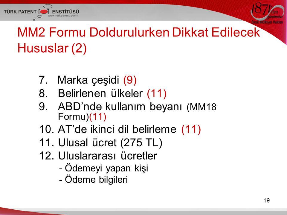 MM2 Formu Doldurulurken Dikkat Edilecek Hususlar (2)
