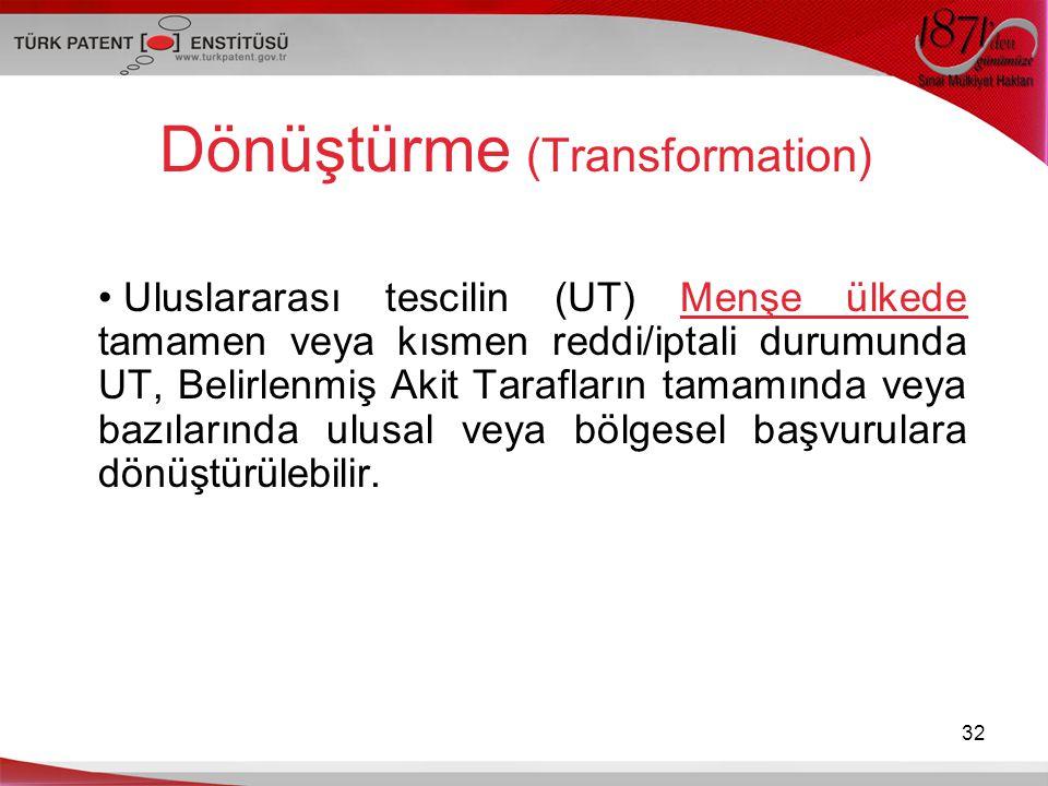 Dönüştürme (Transformation)