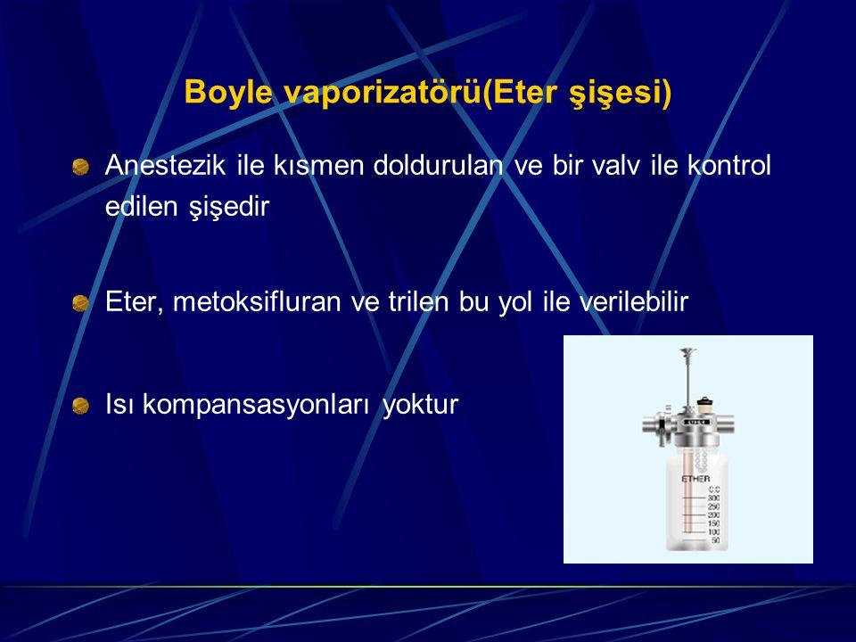 Boyle vaporizatörü(Eter şişesi)