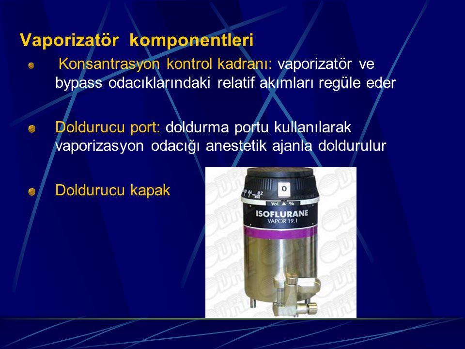 Vaporizatör komponentleri