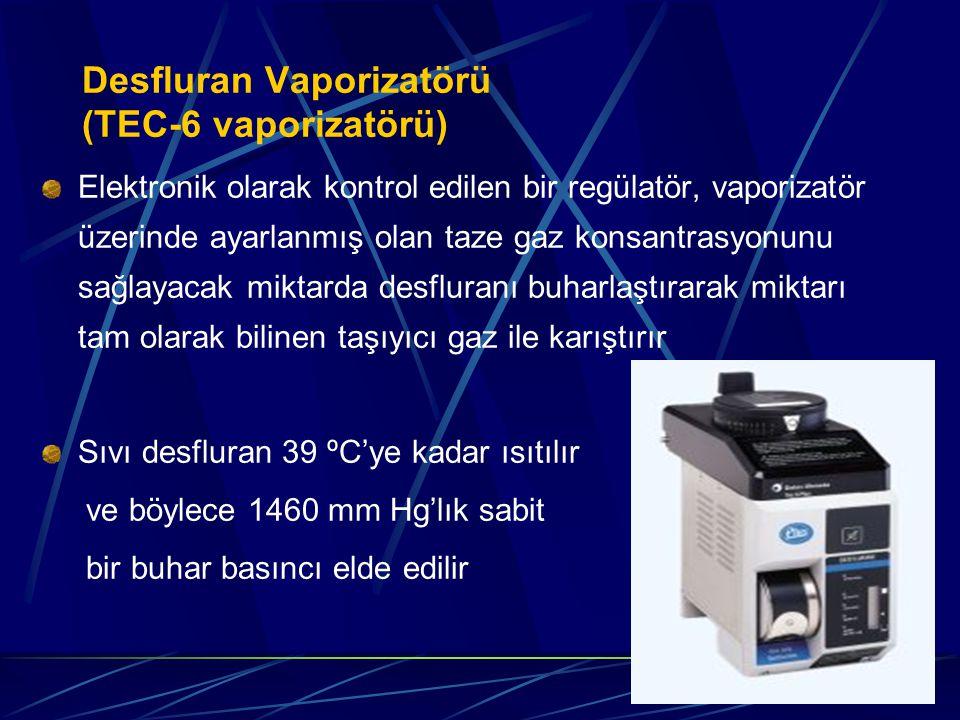 Desfluran Vaporizatörü (TEC-6 vaporizatörü)