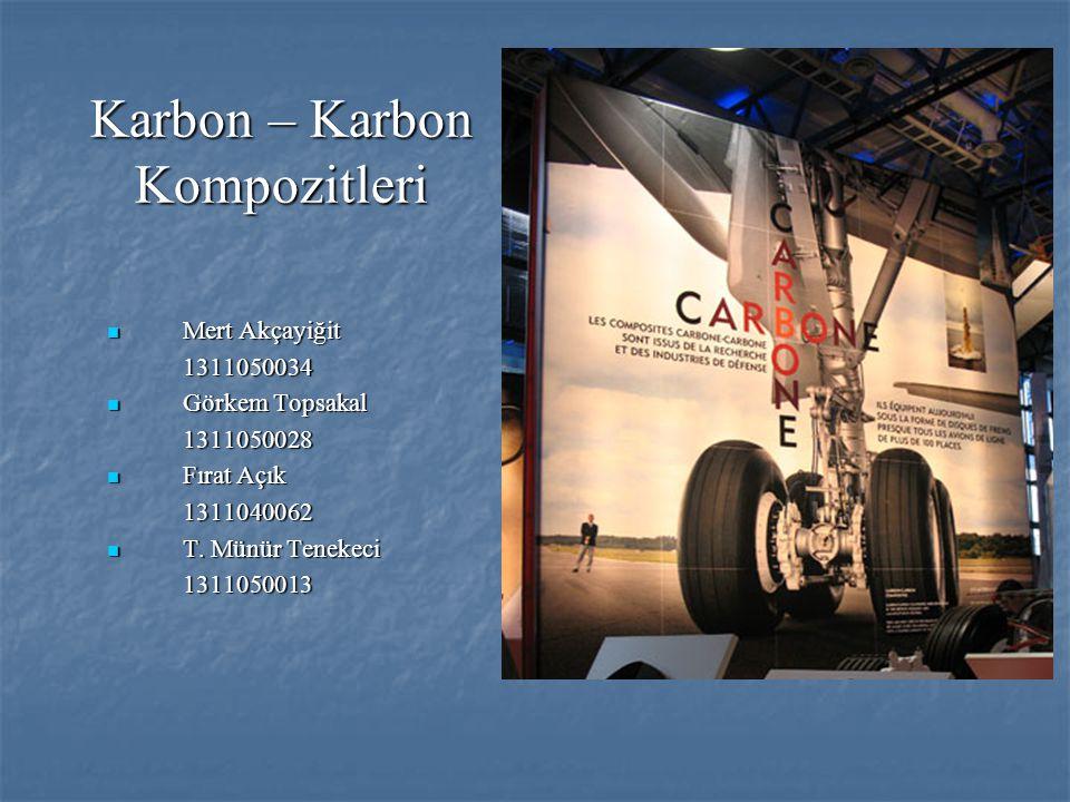 Karbon – Karbon Kompozitleri