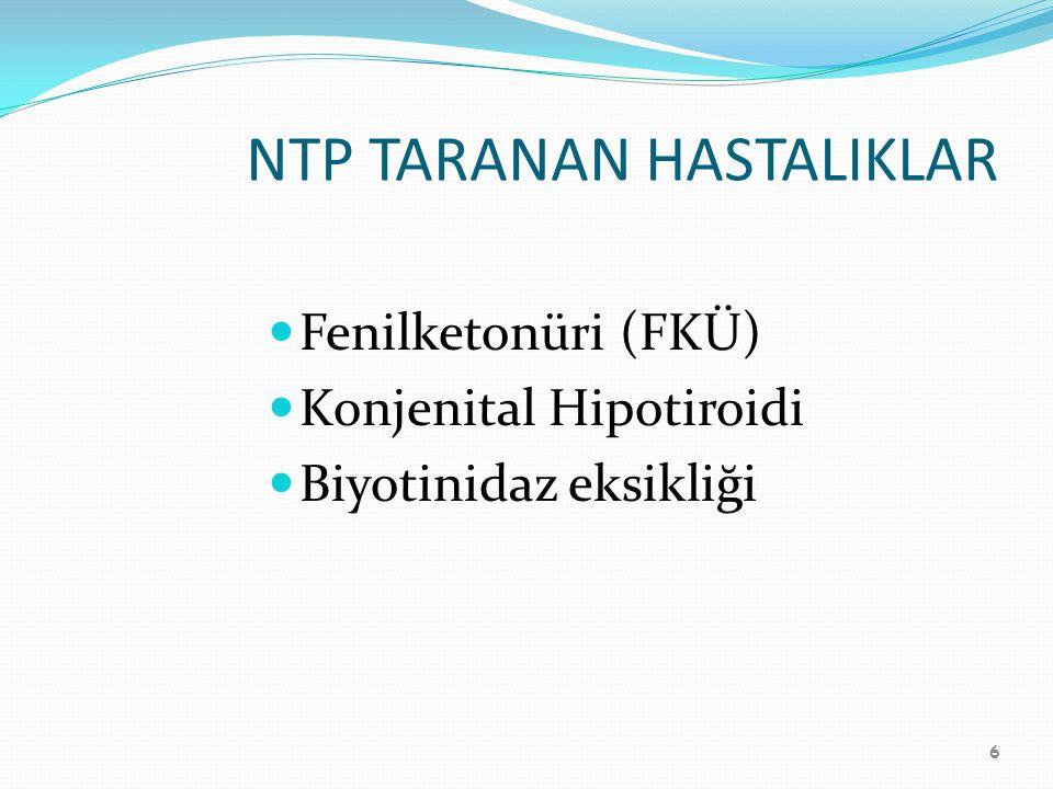 NTP TARANAN HASTALIKLAR