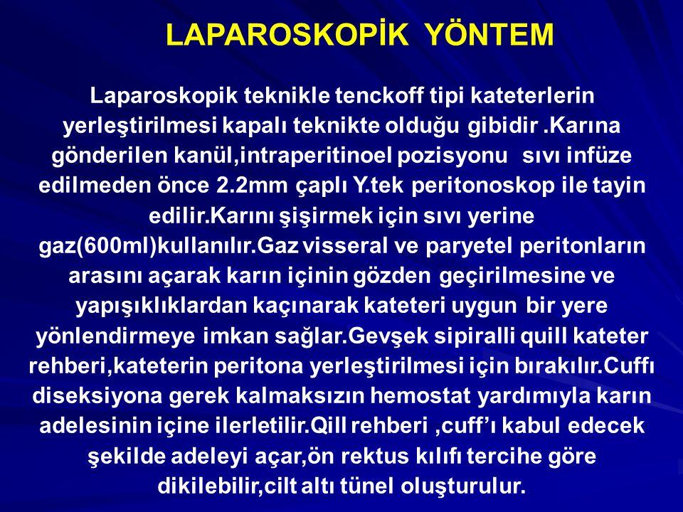 LAPAROSKOPİK YÖNTEM