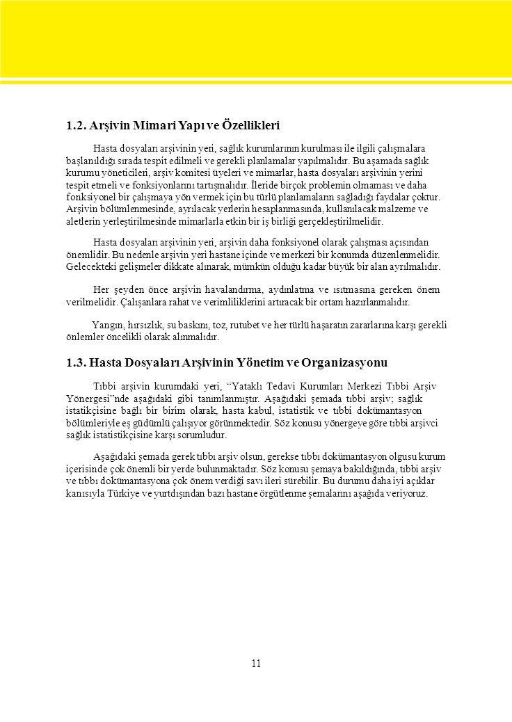 1.2. Arşivin Mimari Yapı ve Özellikleri