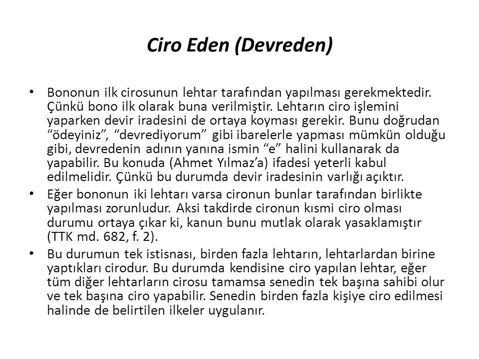 Ciro Eden (Devreden)