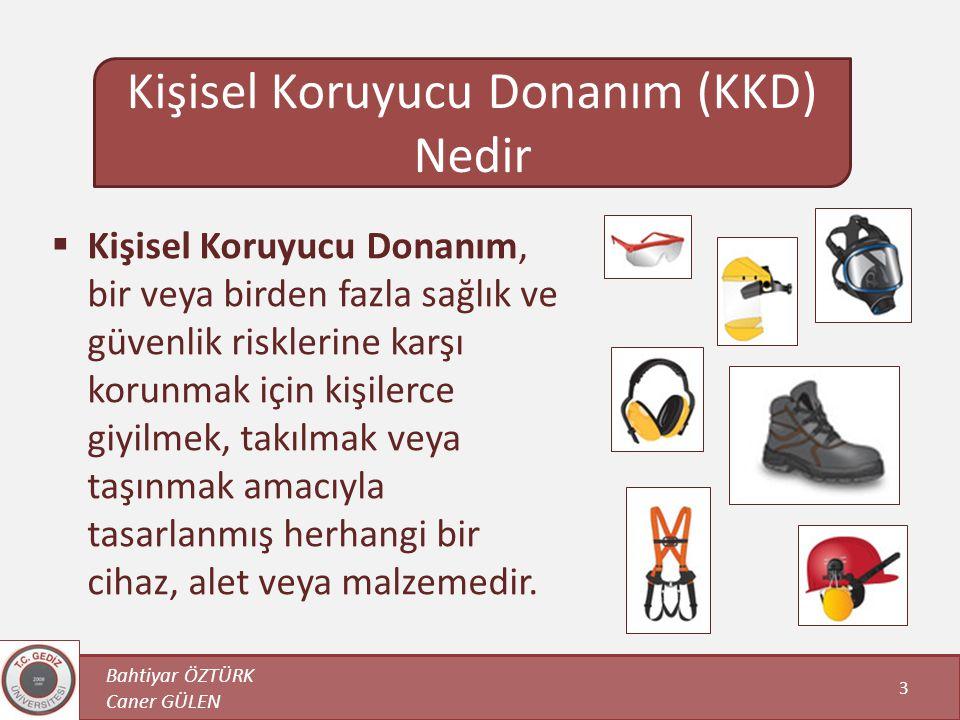 Kişisel Koruyucu Donanım (KKD) Nedir