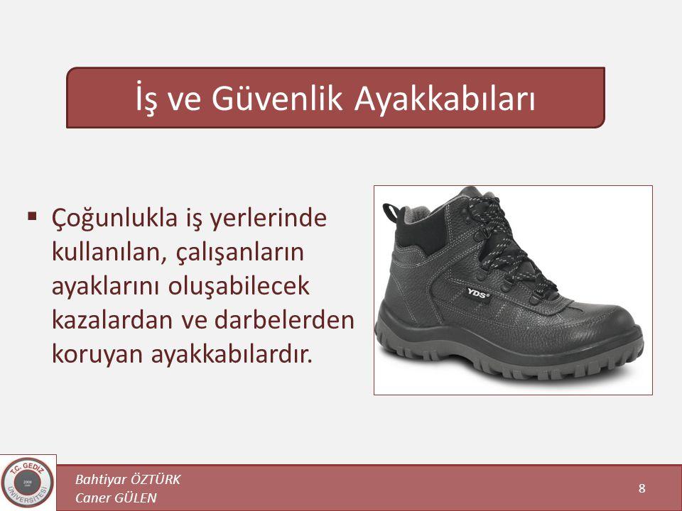 İş ve Güvenlik Ayakkabıları