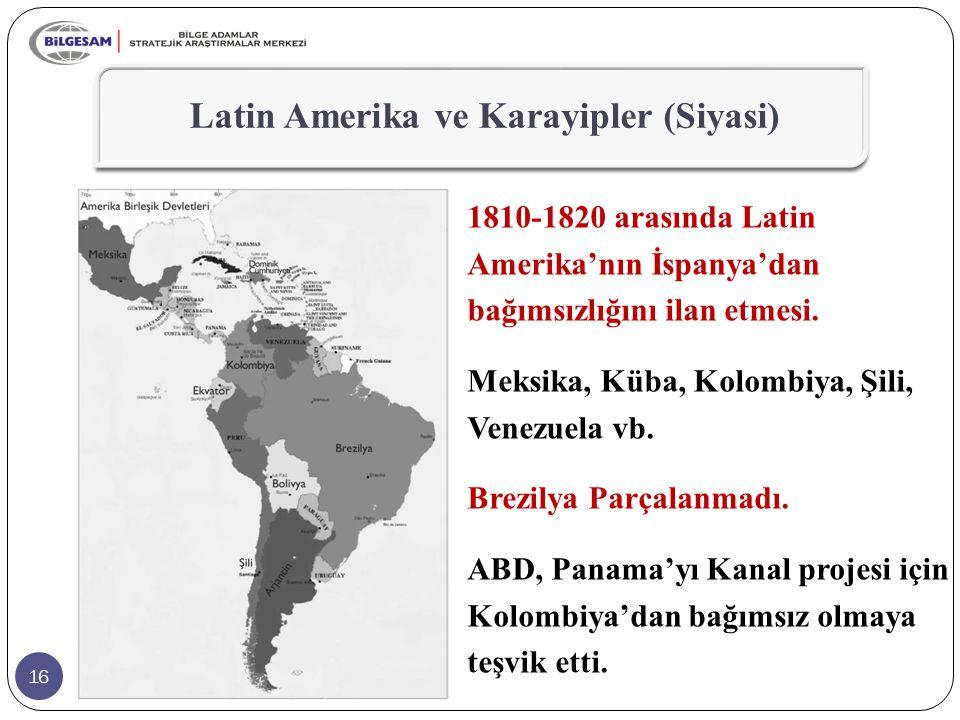 Latin Amerika ve Karayipler (Siyasi)