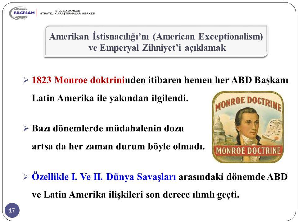 Amerikan İstisnacılığı'nı (American Exceptionalism) ve Emperyal Zihniyet'i açıklamak