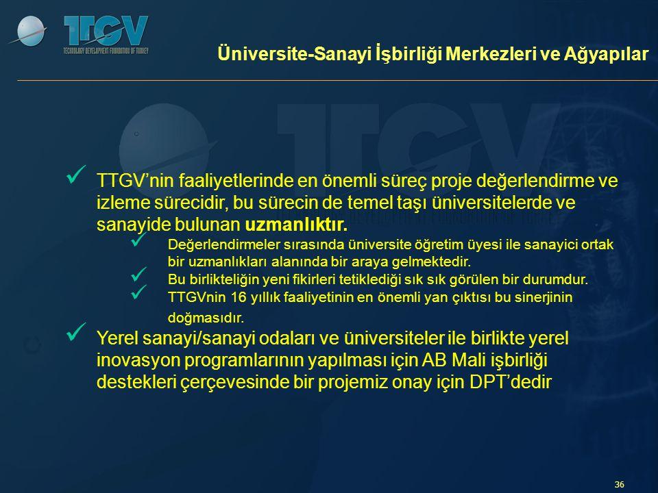 Üniversite-Sanayi İşbirliği Merkezleri ve Ağyapılar