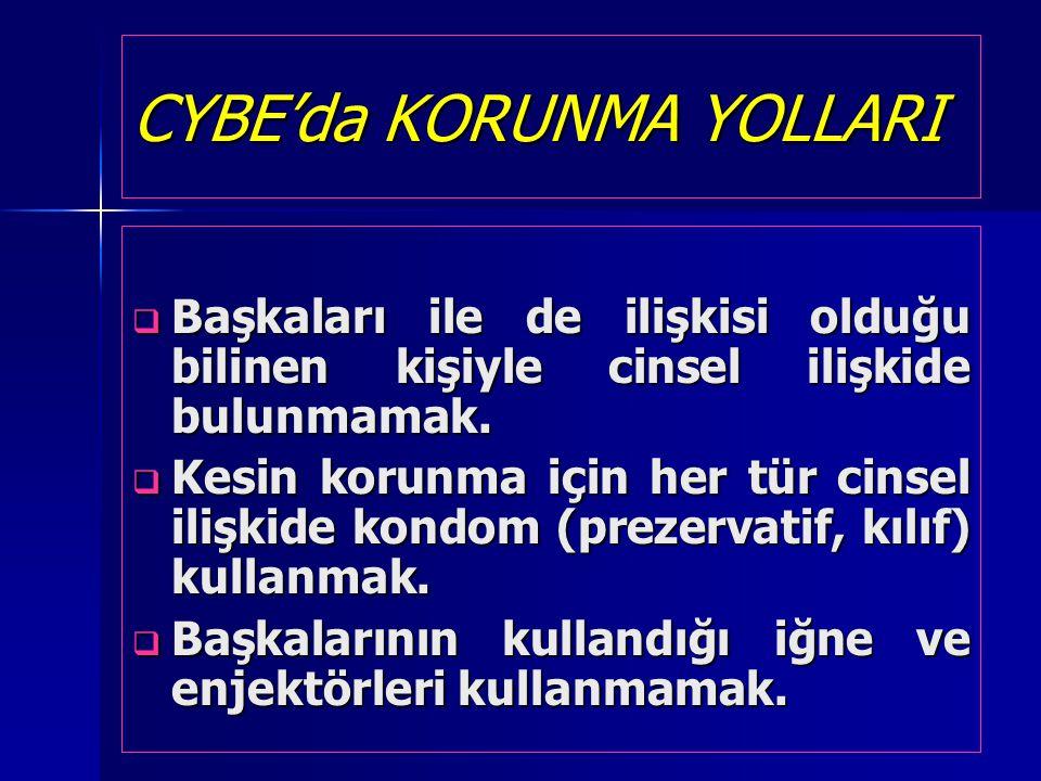 CYBE'da KORUNMA YOLLARI
