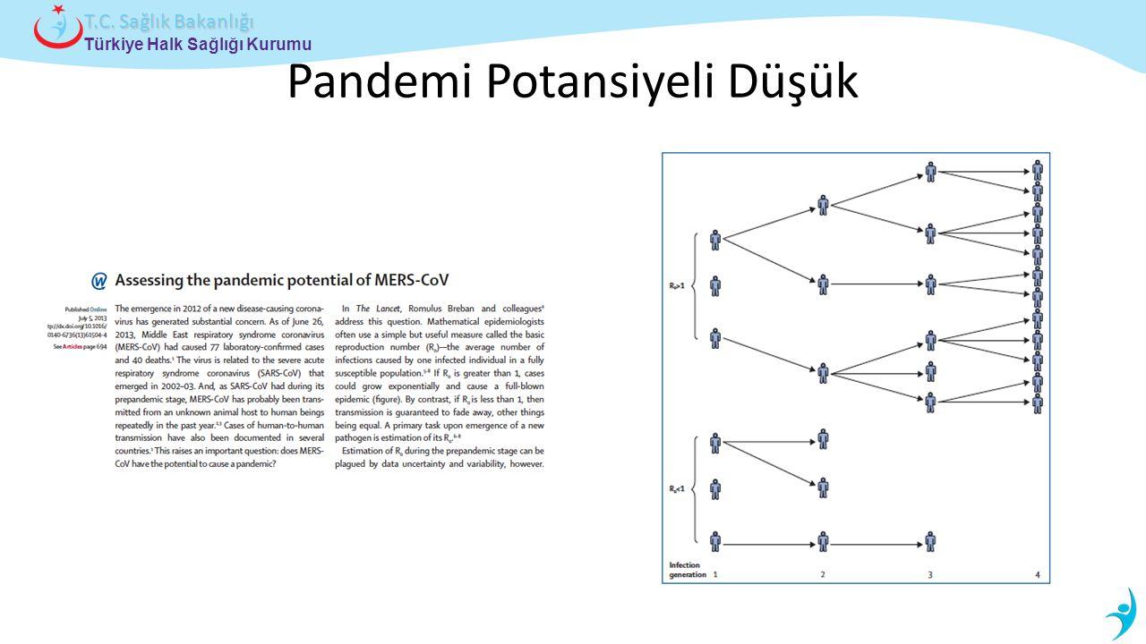 Pandemi Potansiyeli Düşük