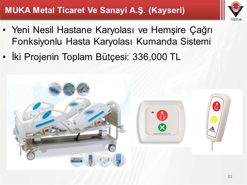 MUKA Metal Ticaret Ve Sanayi A.Ş. (Kayseri)