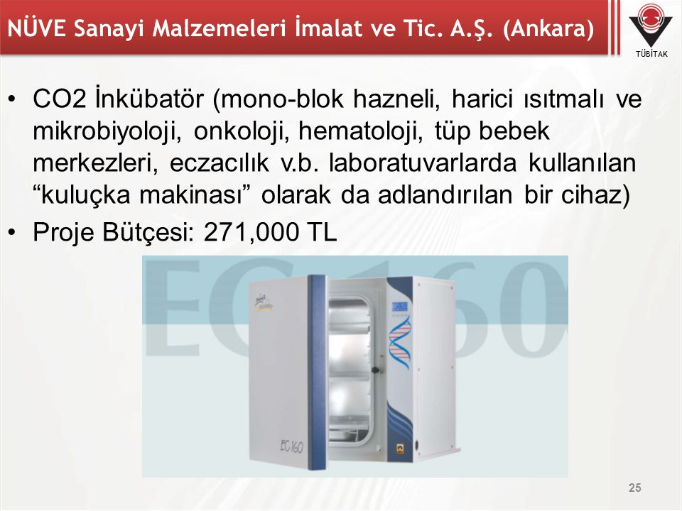 NÜVE Sanayi Malzemeleri İmalat ve Tic. A.Ş. (Ankara)