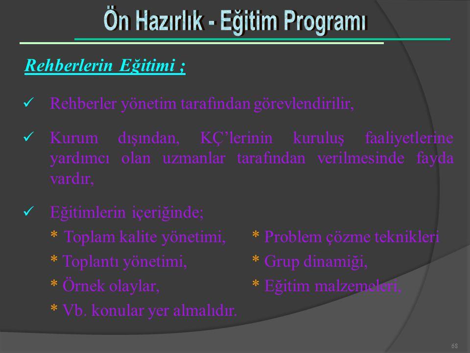 Ön Hazırlık - Eğitim Programı