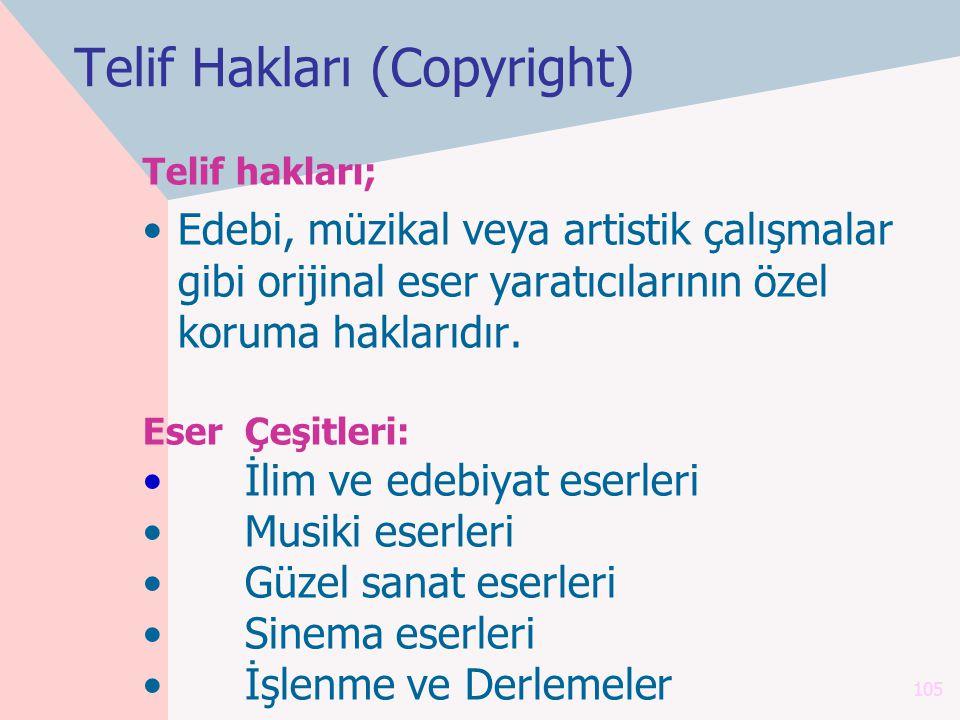 Telif Hakları (Copyright)