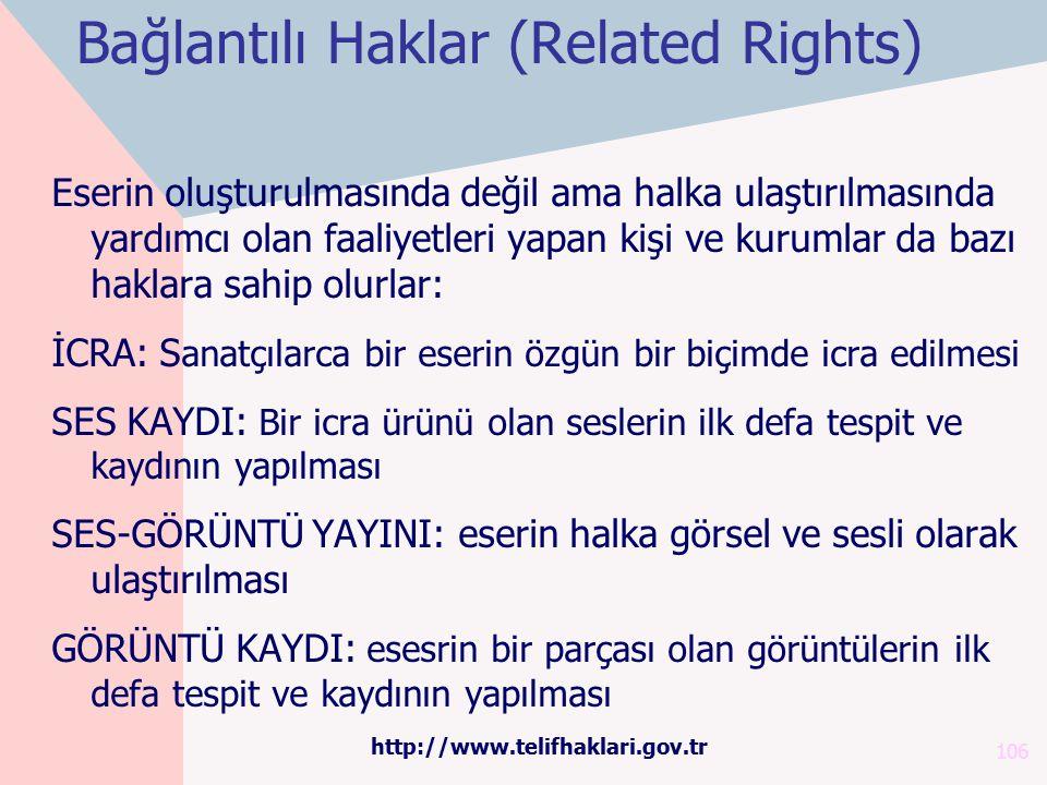 Bağlantılı Haklar (Related Rights)