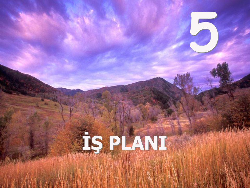 5 İŞ PLANI