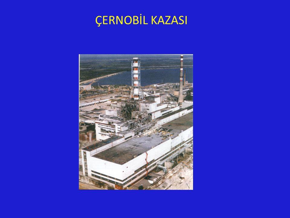 ÇERNOBİL KAZASI
