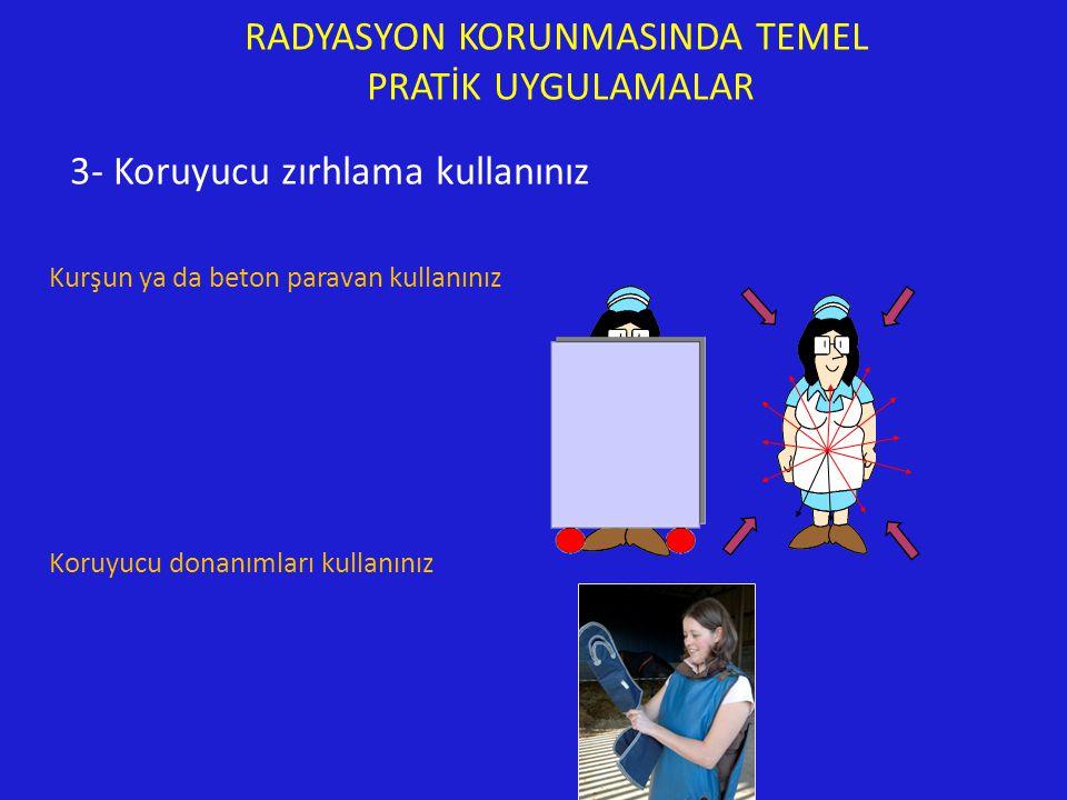 RADYASYON KORUNMASINDA TEMEL