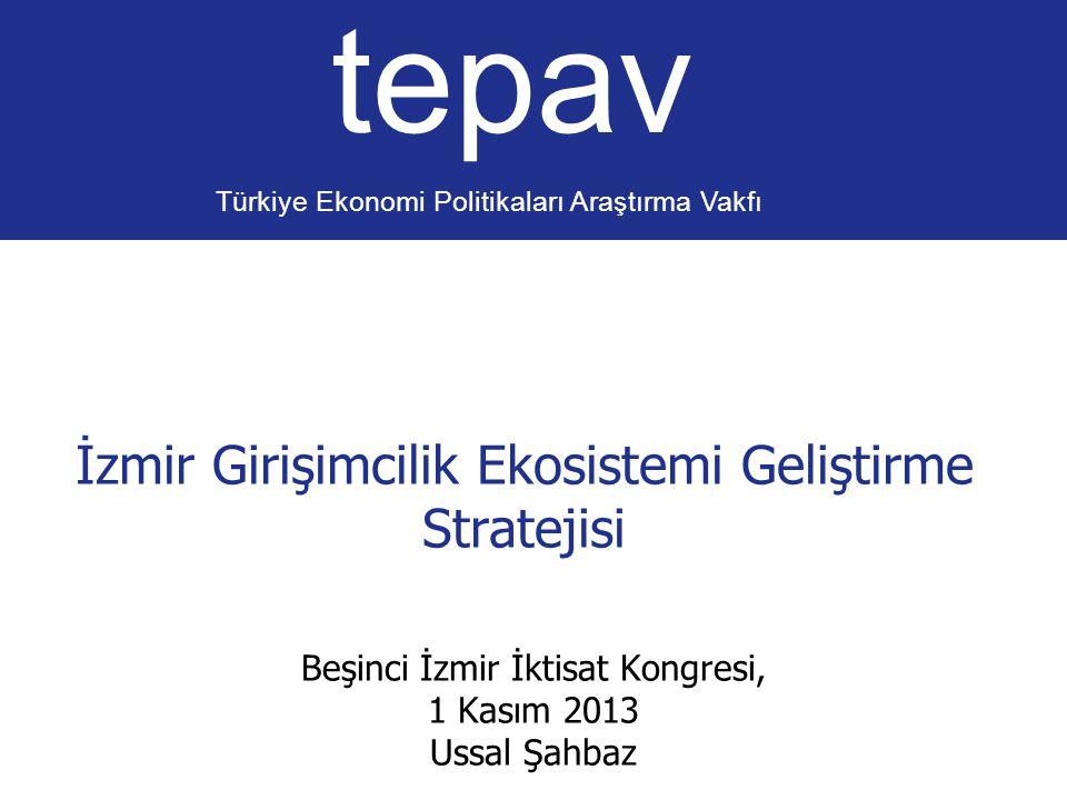 İzmir Girişimcilik Ekosistemi Geliştirme Stratejisi
