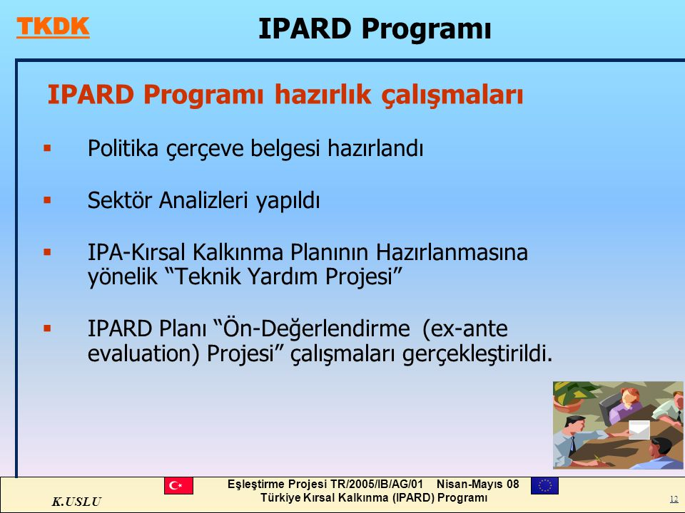 IPARD Programı hazırlık çalışmaları