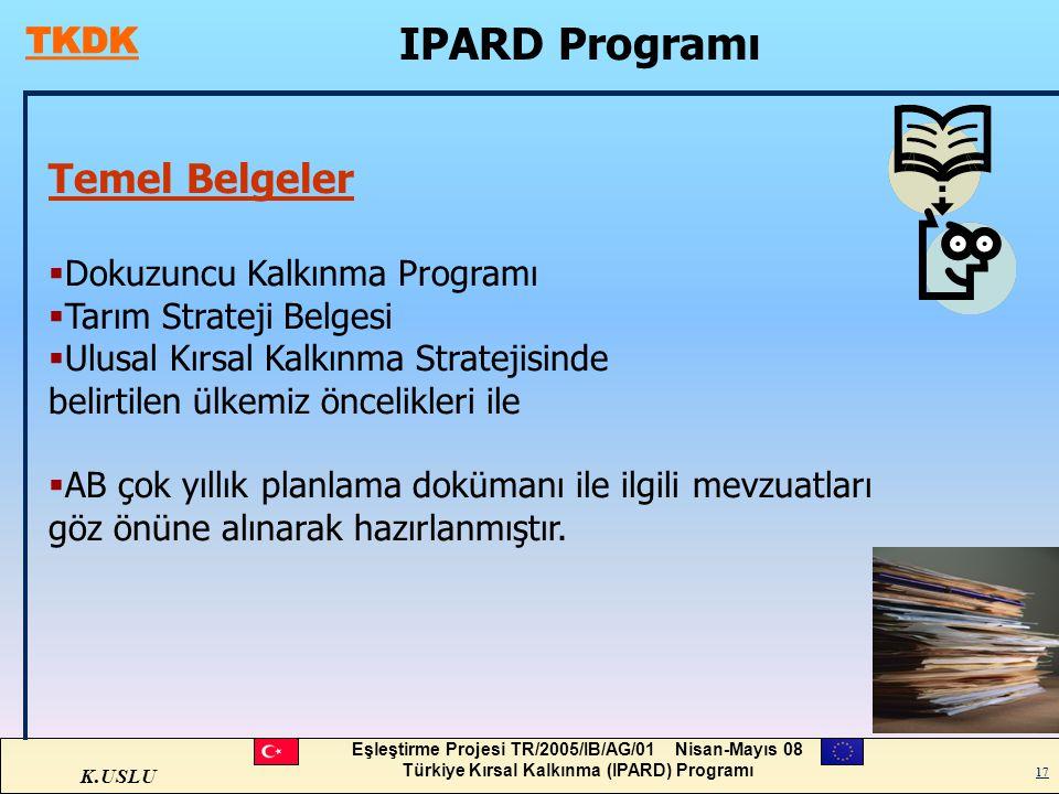 IPARD Programı Temel Belgeler Dokuzuncu Kalkınma Programı