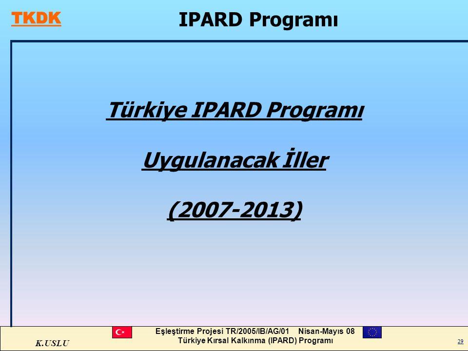 Türkiye IPARD Programı